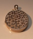 Victorian Sterling Locket
