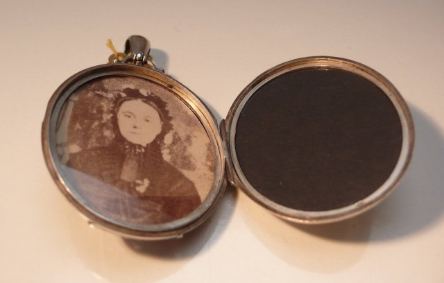 Victorian Sterling Silver locket