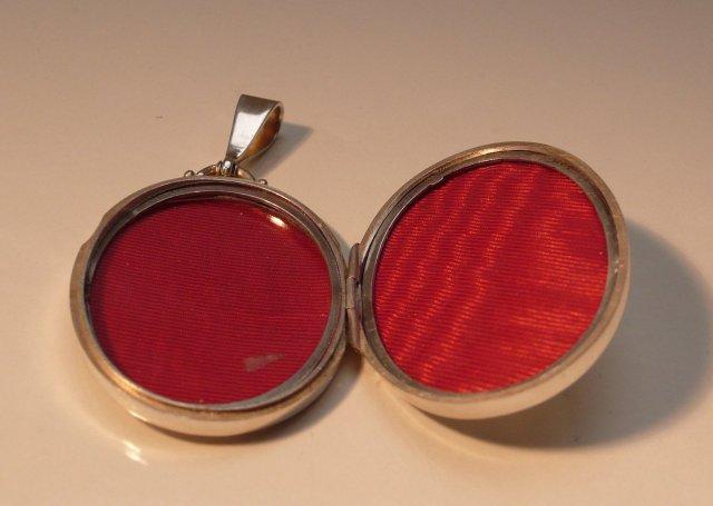 Victorian Sterling Silver locket