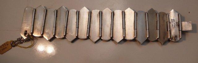 Stunning & Bold Sterling Bracelet
