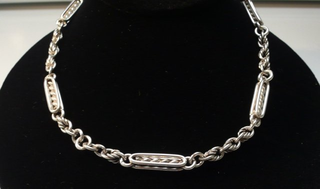 Victorian Sterling Silver  Necklace