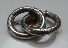 Victorian Sterling Silver Brooch