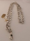 Victorian Sterling Link Chain