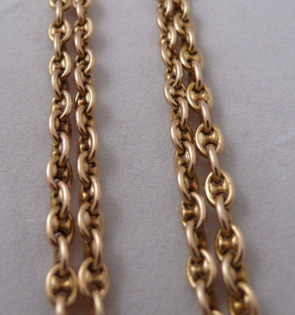 18 Ct. Victorian Gold Chain