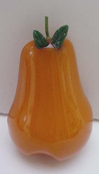 Bakelite Vintage Pear  Pin