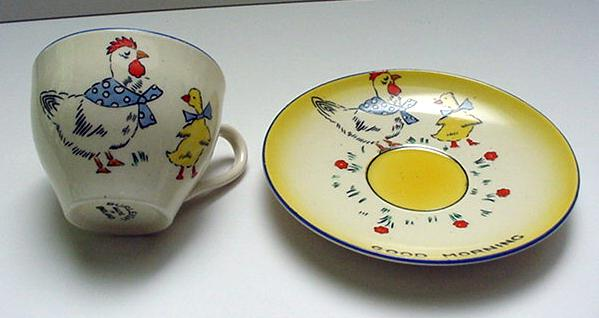 Burleigh Ware Children's Duo: Good Morning