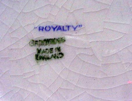 RWC:Royal Winton Chintz Royalty Plate