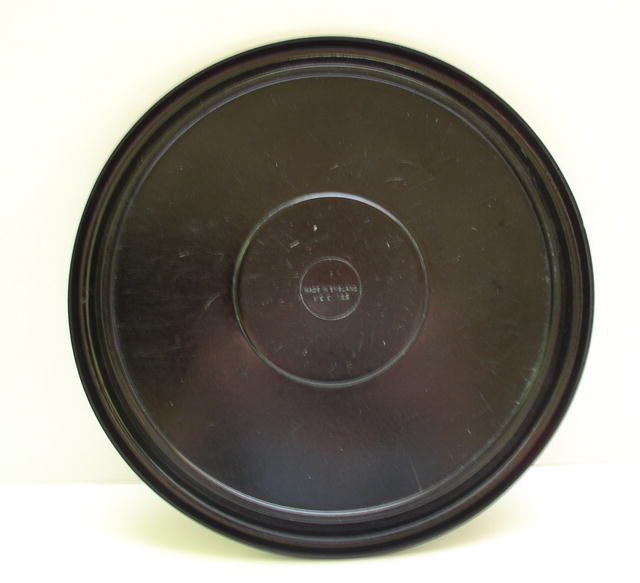 Bakelite Round Tray with a Fish Motif