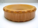 Bakelite Carved Ribbed Vintage Bangle
