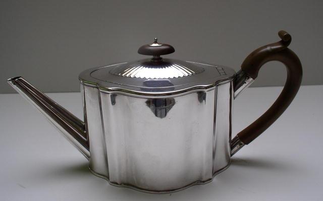 Hester Bateman Silver Teapot