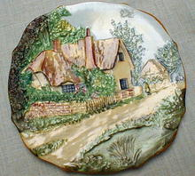 Royal Winton Cottageware Plate Old England
