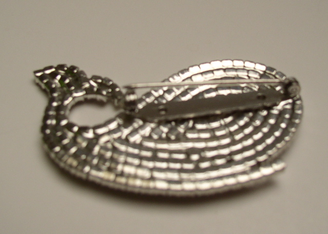 Butler and Wilson Whale Brooch