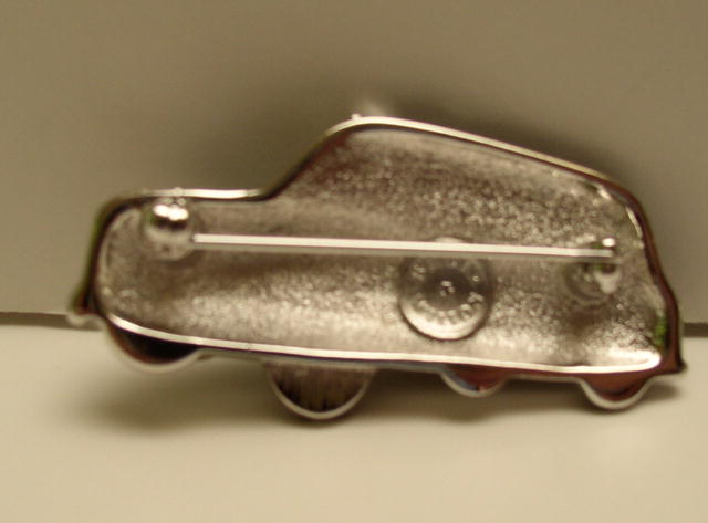 Butler and Wilson English Taxi Brooch