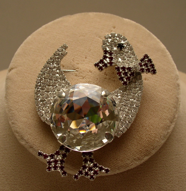 Butler and Wilson  Duck Brooch