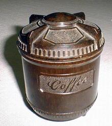 Bakelite Vintage Cannister