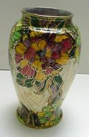 Royal Winton Lustre Ware Carnation Vase