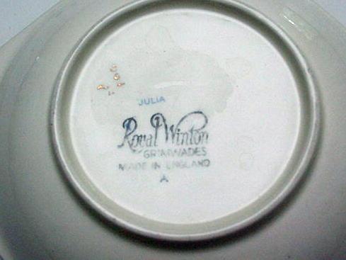 RWC Royal Winton Vintage Chintz  Julia Dish