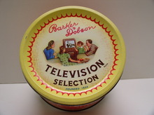 Advertising tin Television Selection for Bon