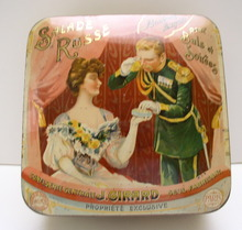 Advertising French Tin Salade Russe: Bonbons