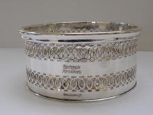 English Silver Plate British Airway Wine Cannister