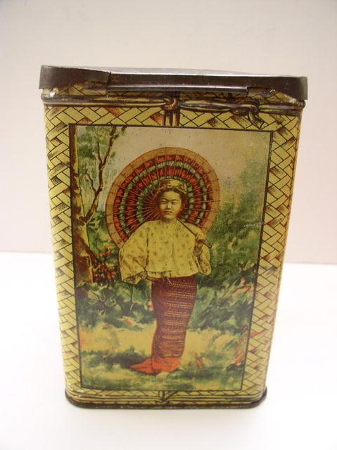 S.S. Pierce Company Choice Ceylon Tea Tin