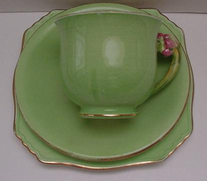 Royal Winton Pastel Apple Green Honey Lily Trio