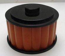 Bakelite Deco Orange and Black English Box