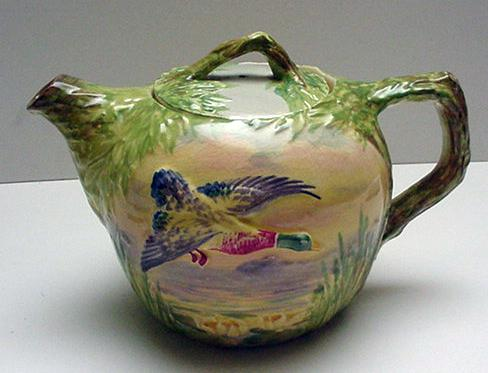 Royal Winton Cottageware Game Teapot