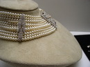Costume Pearl and Diamond Choker