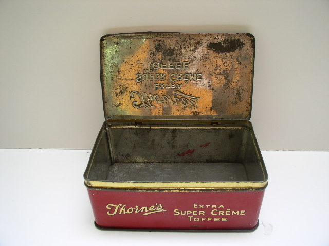 Thorne's Toffee Tin
