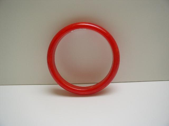 Bakelite Vintage Red Bangle