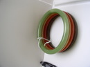 Bakelite Vintage Set of 4 Colored Bangles