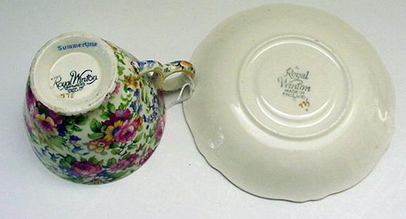 Royal Winton Chintz  Summertime  Cup/Saucer
