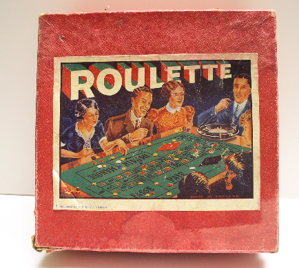 Bakelite Roulette Game in Box