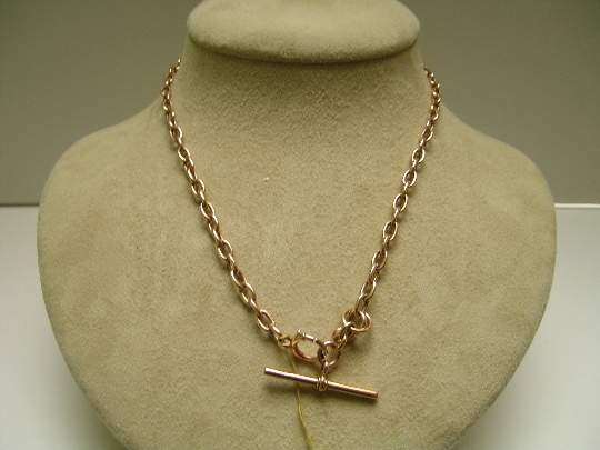 Victorian 15 ct. Gold Double Prince Albert