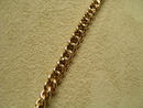 Victorian 18 kt. gold link Prince Albert chain