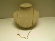 Victorian Declicate 18ct gold chain
