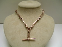Victorian 9ct Rose Gold Double Prince Albert