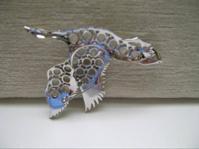 Beautiful  Bird in flight Brooch