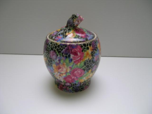 Royal Winton Chintz Hazel Small Jam -rosebud