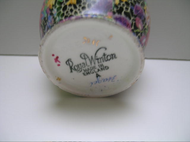 Royal Winton Chintz Hazel Small Jam -rosebud