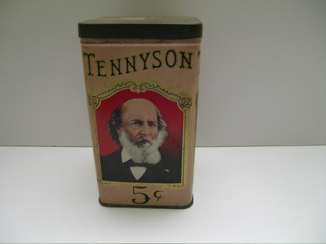 Vintage Tennyson Cigar Tin