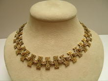 18 Ct. Gold Victorian Medieval Necklace