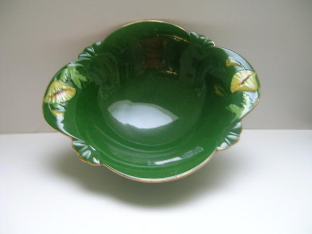 Royal Winton Dark Green Pastel Bowl