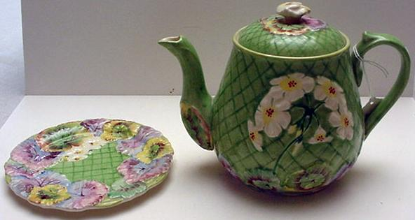 Royal Winton Gera Teapot with Underplate