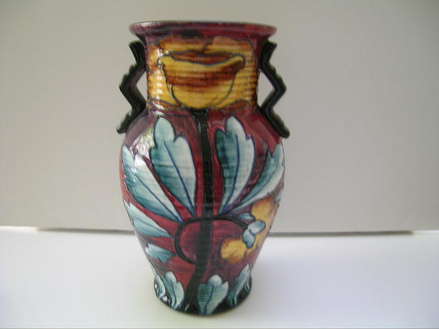 English Royal Cauldon Vase