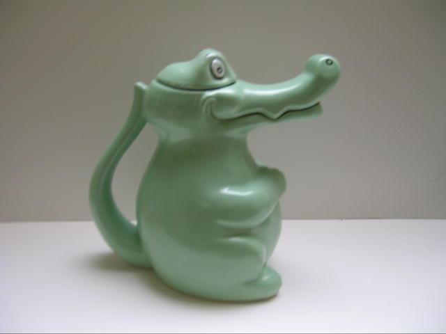 Carleton Ware Alligator Teapot