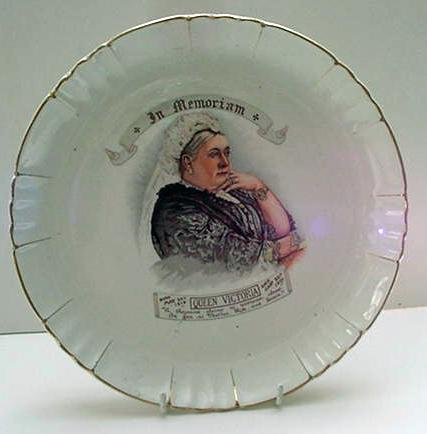 Commemorative: Queen Victoria Memorial Plate