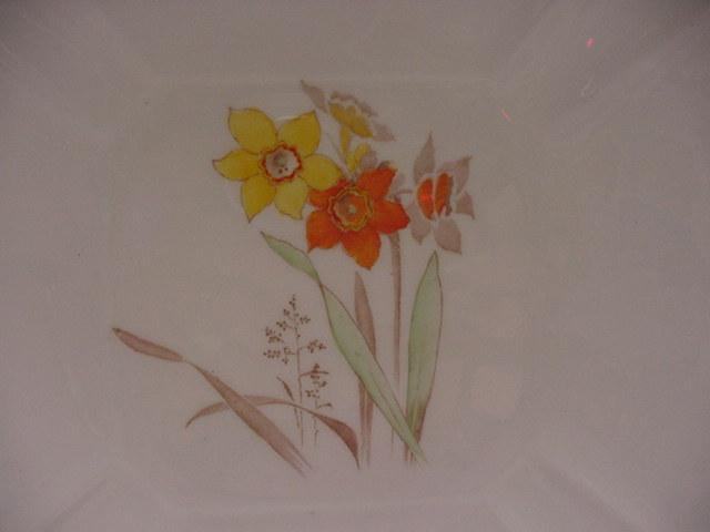 Shelley Narcissus Cake Plate