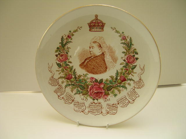 Queen victoria Commemmorative Plate: The Empire
